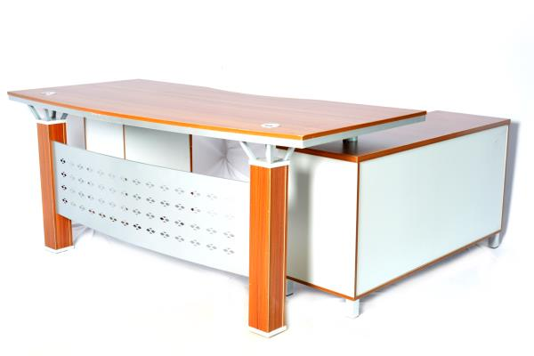 office table 2.6 - by NATURE WOOD FURNITURE, Bengaluru