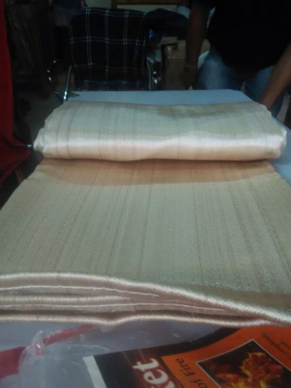 Heat Resistant Fiber Glass Cloth  We Supplier in All Gujarat, Maharastra, Karnataka, Tamil Nadu, Kerala, Rajasthan, Madhya Pradesh, Andhra Pradesh, Trlagna , West Bagel, Panjab , Assam, Delhi , Chattisgarh, Utter Pradesh     - by Darshan Safety Zone, Ahmedabad