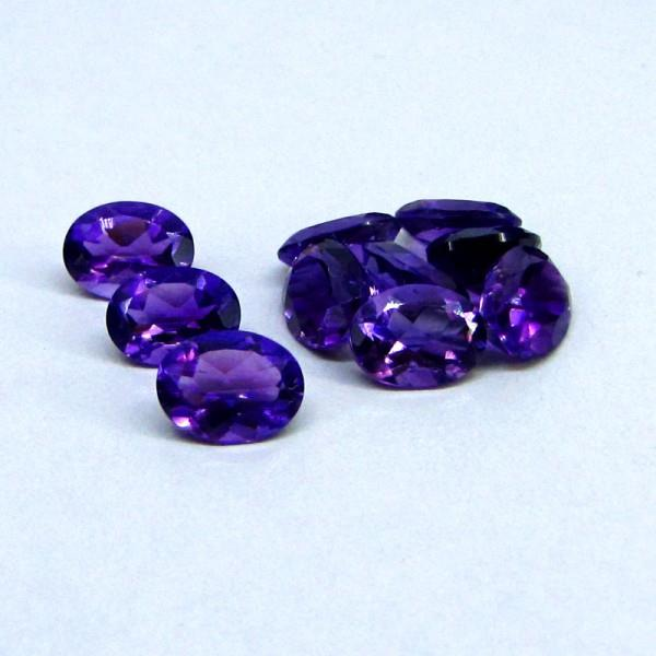 Amethyst Gemstone Loose Amethyst Gemstones available in various cut and shapes.  - by GemsBiz - A Manufacturing Company of Fine Quality Gemstones, Beads and Gold-Silver Jewelry, Jaipur