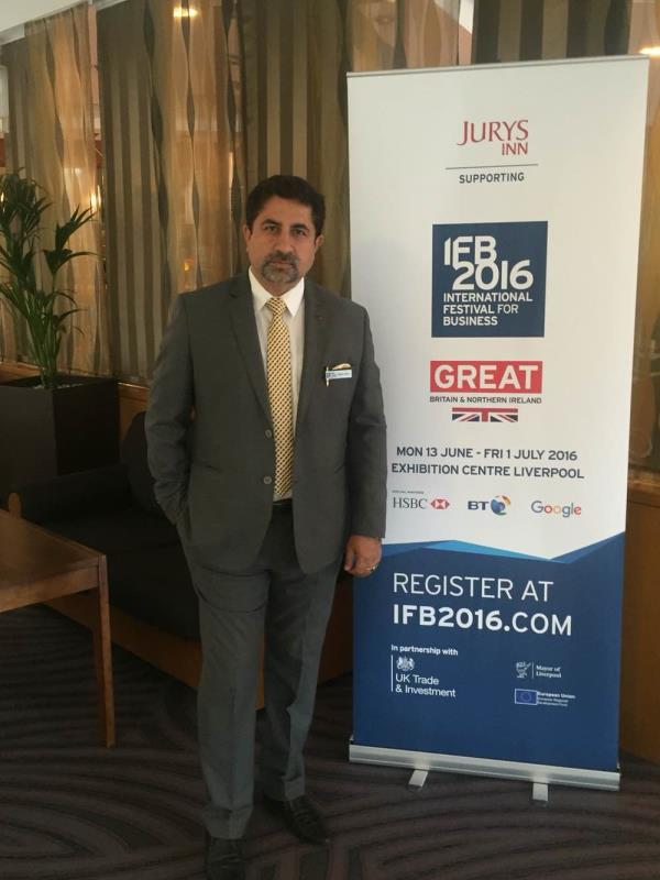 Attending Business Festival in Liverpool UK - by Pet Plast India, Faridabad