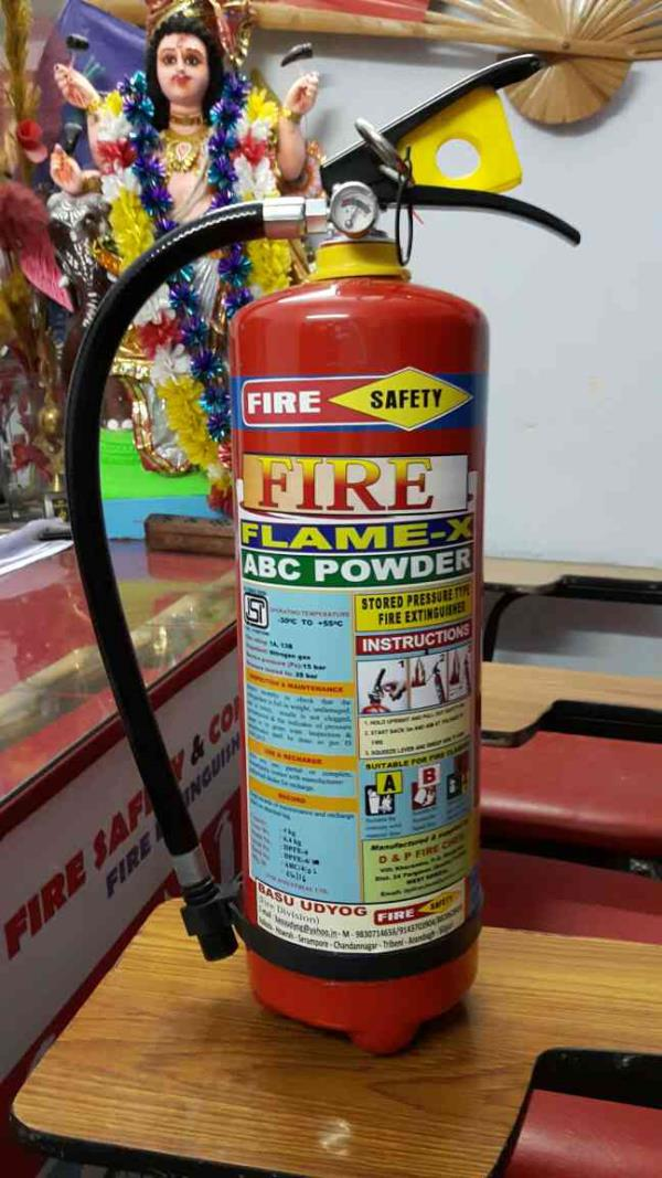 Best Manufacturer of Fire Extinguisher in West Bengal - by Basu Udyog (Fire Division), Kolkata