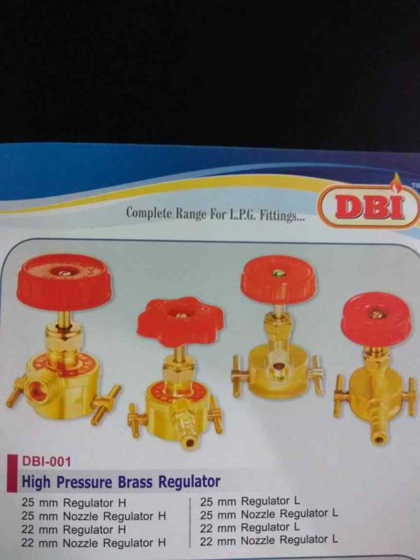 We are also manufacturing and supplying of High Pressure Brass Regulator in rajkot and supplying in all over India.  - by Dwarkadhish Brass Industries , Rajkot