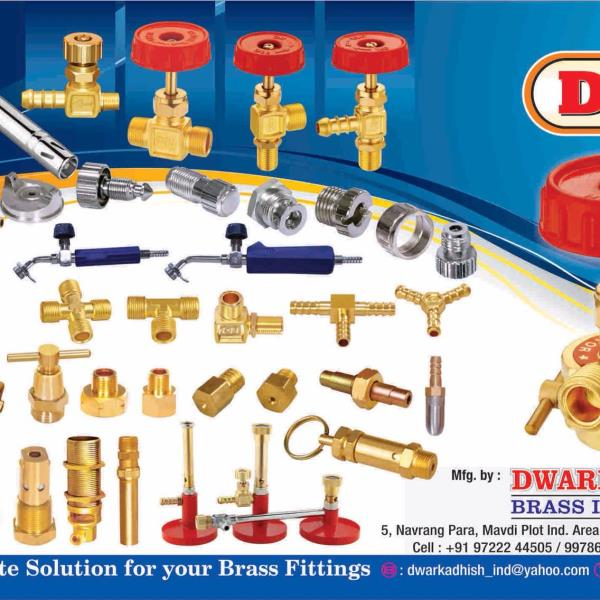 Brass fittings - by Dwarkadhish Brass Industries , Rajkot