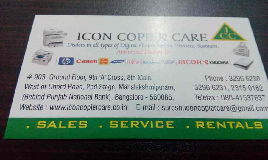 digital scanner hire as very limited price in rajajinagar - by Iconcopier, Bangalore