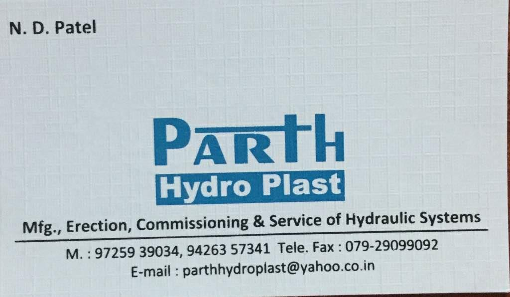We Parth hydro plast are one of the leading manufacturer and supplier of hydraulic power pack in Ahmedabad Gujarat India  - by Parth Hydro Plast, Ahmedabad