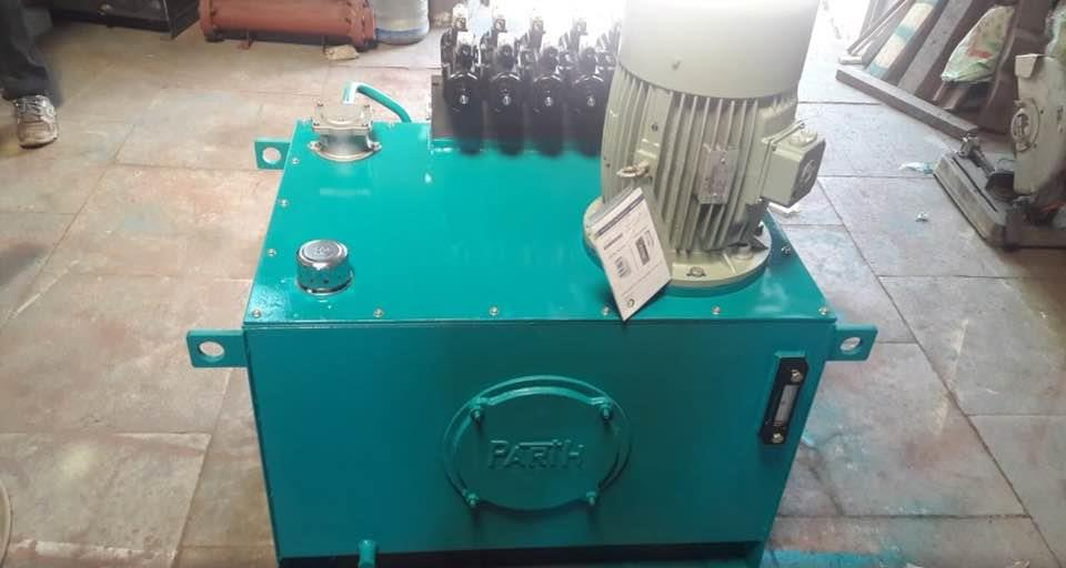 Manufacturers of hydraulic power pack in Ahmedabad Gujarat India  - by Parth Hydro Plast, Ahmedabad