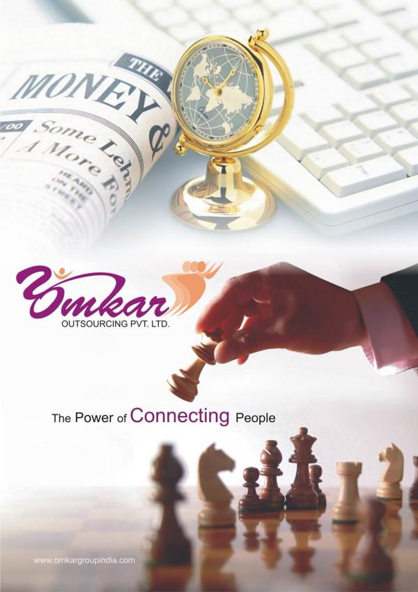 The power of connecting people  - by Omkar Outsourcing Pvt Ltd, Pune
