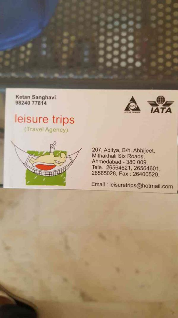 Our company Leisure Trips is into providing you world class experience and arranging your trips country wide as well as at global level. - by Leisure Trips, Ahmedabad