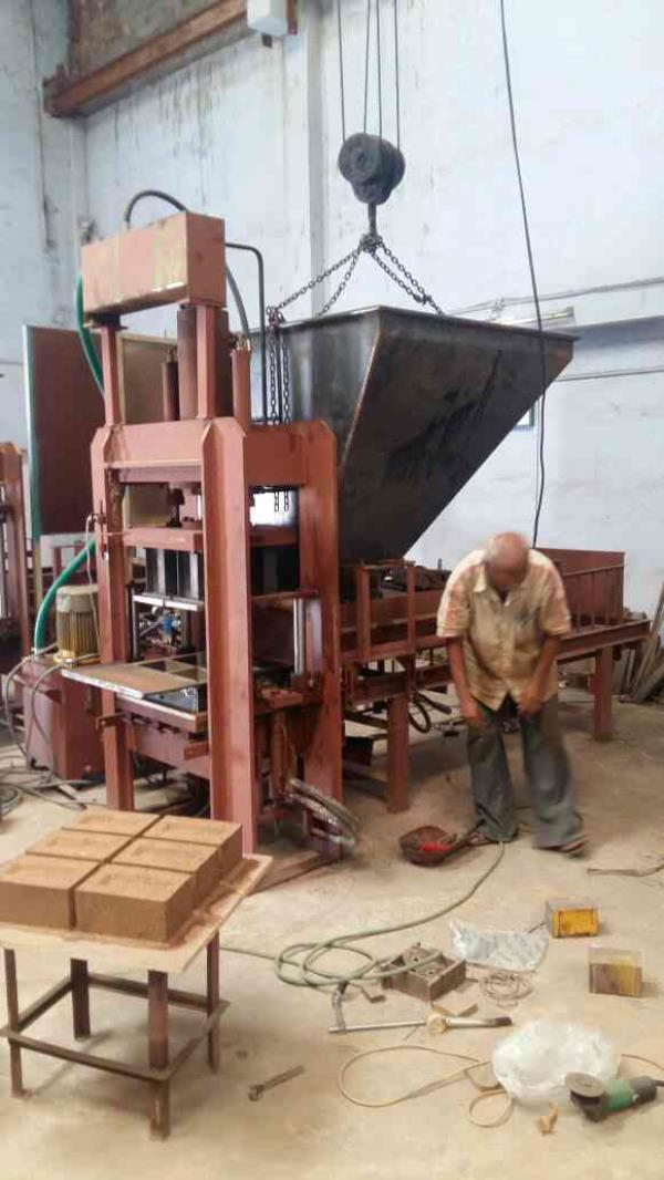 testing by send brick only. - by Samarth Hydraulic Group, Pune