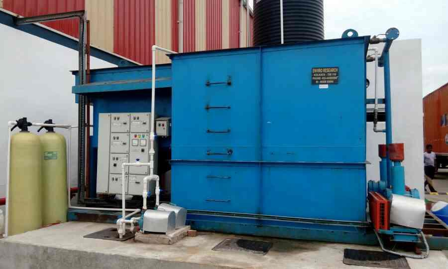 Compact STP, STP, Skid mounted STP - by Enviro Research, Barrackpore