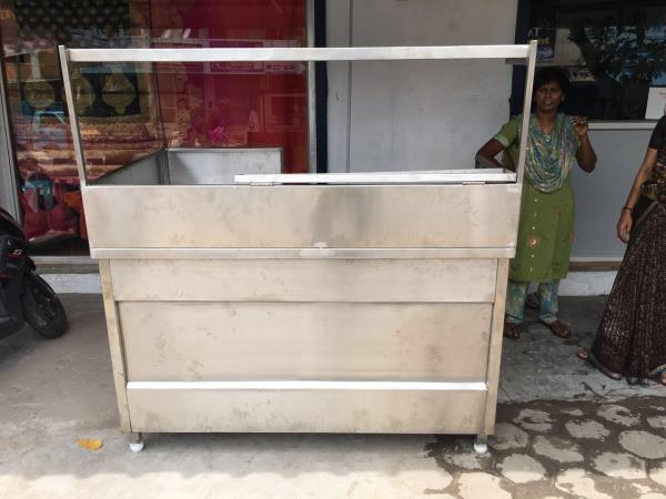 bar-b-q table outdoor - by Aggarwal Industries, Calcutta