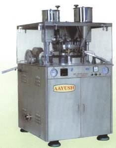 Double Rotarty Tablet Press manufacturers in Ahmedabad Gujarat India  - by AAYUSH TECHNO PVT LTD, Ahmedabad