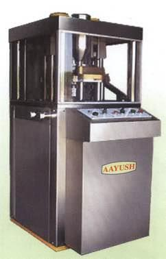 Mini Press Pharmaceutical Machinery manufacturers in Ahmedabad Gujarat India  - by AAYUSH TECHNO PVT LTD, Ahmedabad