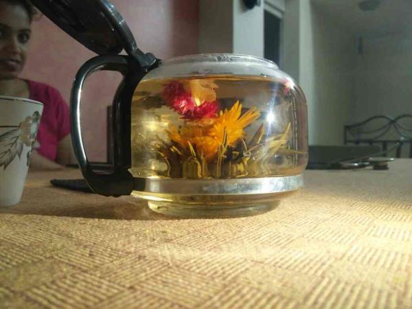 Flower tee from China amazing taste.....