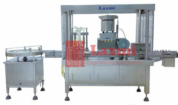 Automatic vial filling machines  we are one of the best quality machinery suppliers of automatic vial filling machines in india - by Laxmi Engineering Equipment, Ahmedabad