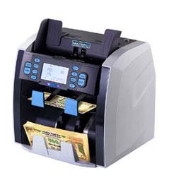 Currency Sorting Machine Manufacturer in Chennai  Maxsell Matrix-V  Compact & Robust Design Twin CIS for Accurate Detection 1+1 Pocket for Non-stop Counting Future Ready Design for upgrades & New Features - by Arihant Maxsell Technologies Pvt Ltd, Chennai