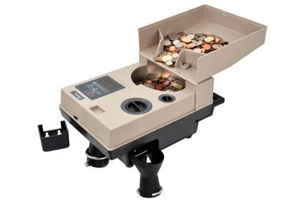 Coin Sorting Machine Manufacturer In Chennai  Two pockets - Accept & Reject Pocket Large Hopper Capacity Counts and Sorts Coins, Plastic Tokens Processes 2000 Pcs per Minute - by Arihant Maxsell Technologies Pvt Ltd, Chennai