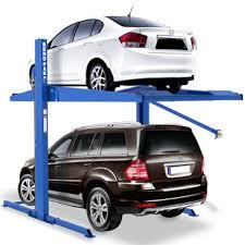 we are manufacturer and supplier of car parking technology provider in Ahmadabad  twin parking lift   - by iPark A Venture Of  INDEL ENGINEERING LTD., Ahmedabad