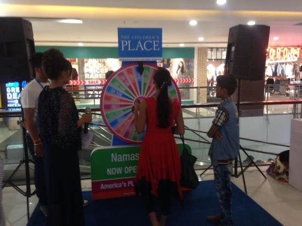 NEW SHOWROOM OPENING AT TI MALL INDORE ( M.P. )  THE CHILDREN'S PLACE - by Vakratunda Events, Indore