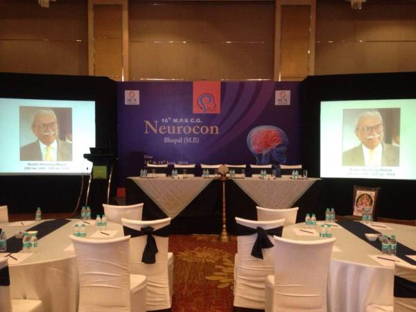Neurocon 16th MPCG BHOPAL AT QUITE YARD HOTEL   - by Vakratunda Events, Indore