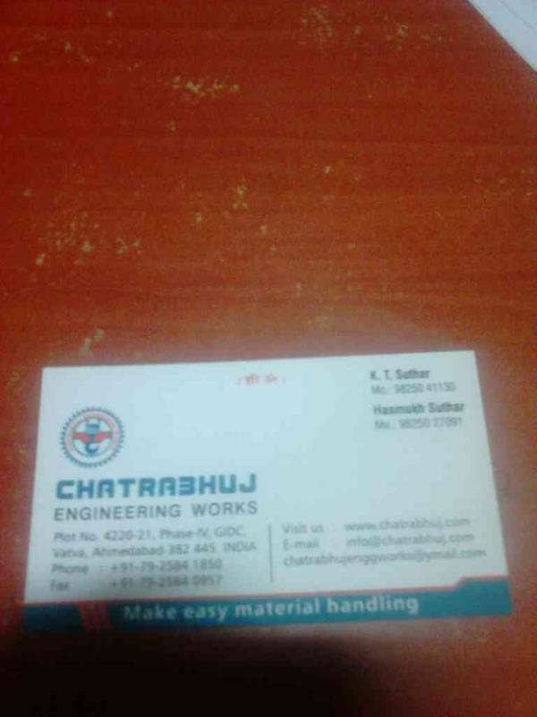 Crane Manufacturers in India. - by Chatrabhuj , Ahmedabad