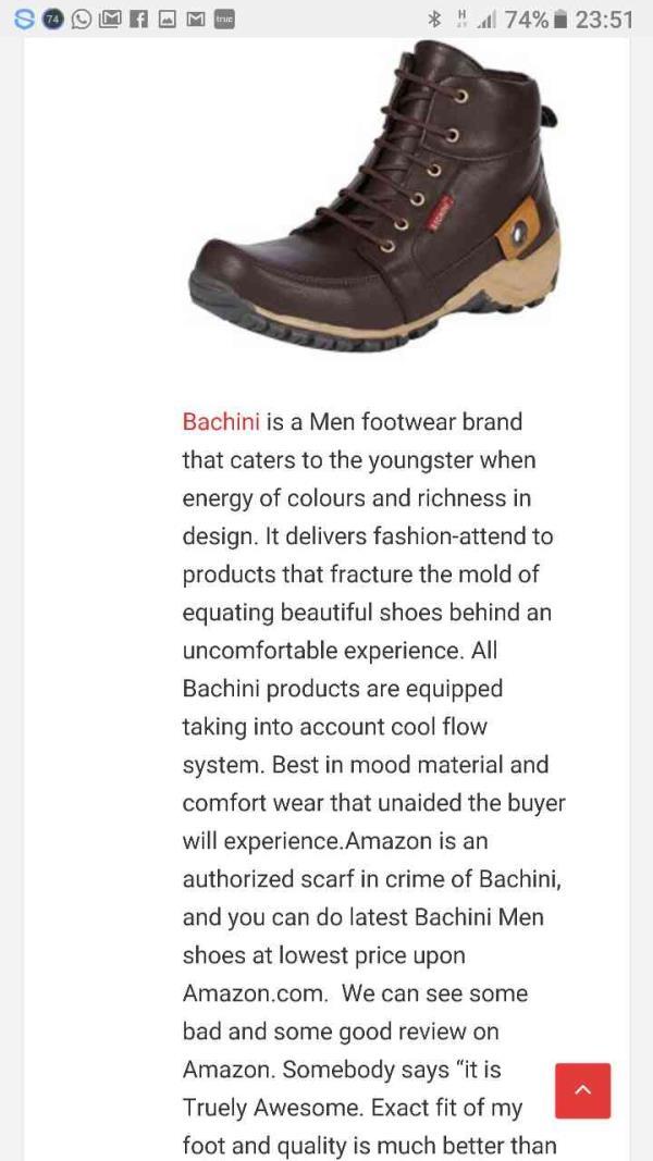 Buy Online Mens boot @ Rs. 499/-  Click here www.bachiniindia.com   - by Bachiniindia.com, New Delhi