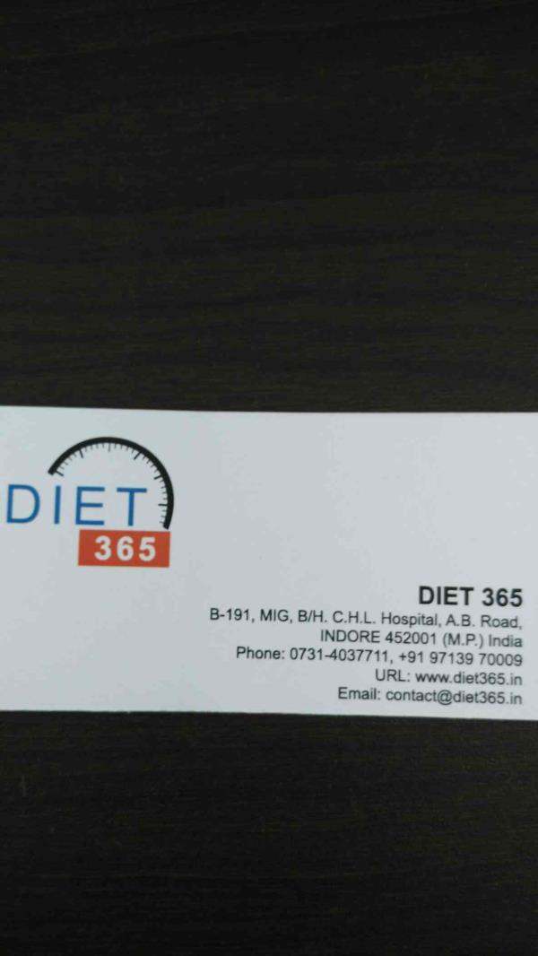 Diet 365 indore - by Diet365, Indore