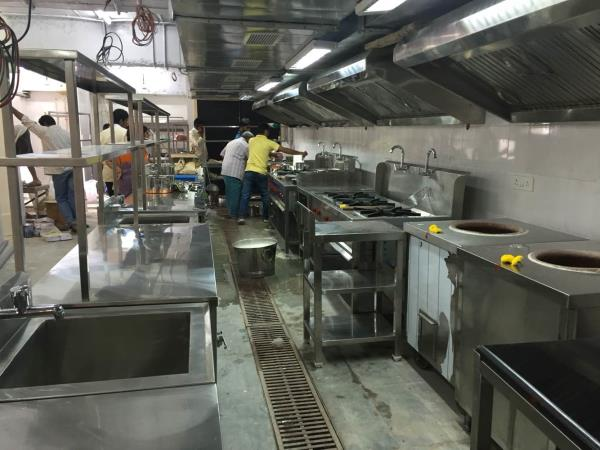 A new kitchen getting installed at Bangalore. Total hospitality has been instrumental in designing the Menu, Kitchen Designing and further done the MEP detailed drawings , BOQ , sourcing to installation. This is a typical South Indian Resta - by Total Hospitality, Hyderabad