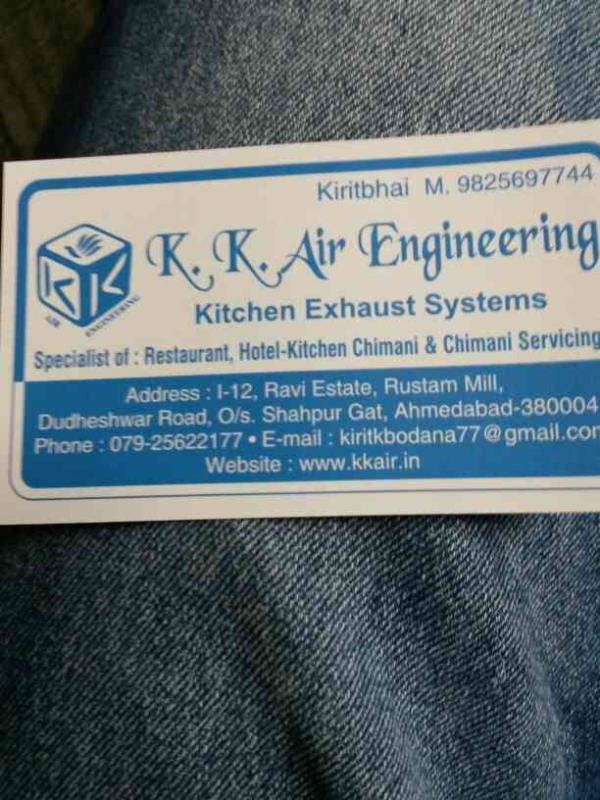 we KK air provide all types of kitchen exhaust system in ahmedabad. - by Kk Air Engineering , Ahmedabad