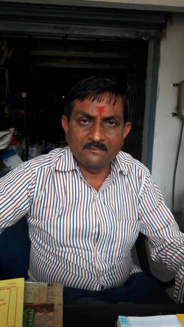 Meet mr Prahlad Patel proprietor of BJ krupa Sales - by B.J. krupa Sales, Ahmedabad