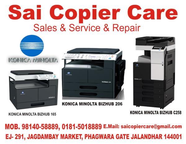 Sai Copier Care suppliers of  Photocopiers B/w, Photocopiers Colour,  Laser Printers B/w,  Laser Printer Colour, Original Toners, Service Repairs & AMCs in punjab jalandhar Mob. 98140-58889 - by Sai Copier Care, jalandhar