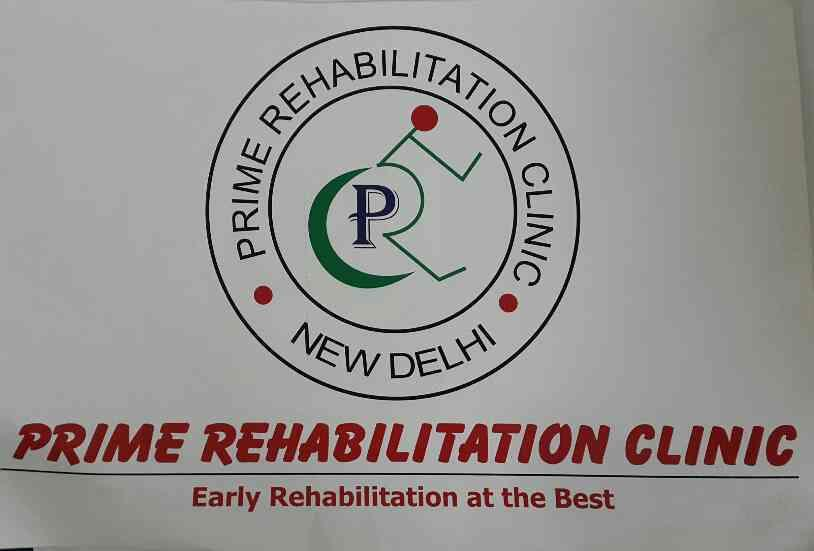 logo of the center - by Prime Rehabilitation Centre, New Delhi