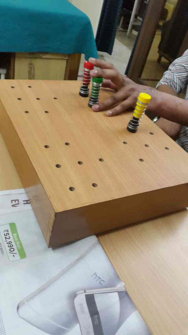 therapy session for hand function - by Prime Rehabilitation Centre, New Delhi