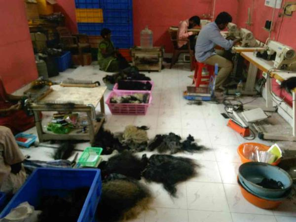 manufacturing area human hair extensions   Remy exporter India  - by Remy Exporters, Chennai