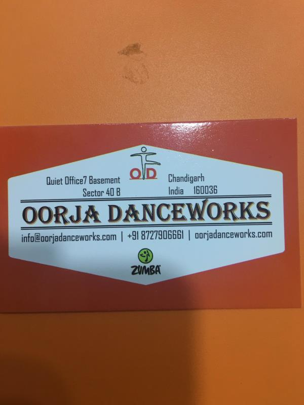Dance Classes in Chandigarh - by OORJA DANCEWORKS, Chandigarh