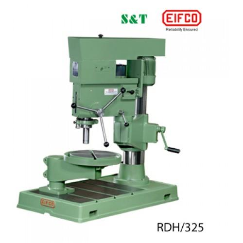 Radial Drilling Machine  Radial Drilling Machine are a lighter contrasting option to a processing machine. They join a drill press (belt driven) with the X/Y coordinate capacities of the processing machine's table and a locking collet that  - by S&T ENGINEERS, Coimbatore