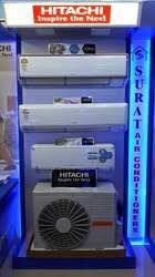 Best rang of HITACHI AC DEALER IN AHMEDABAD TRIO HOME APPLINCES  - by Trio, Ahmedabad