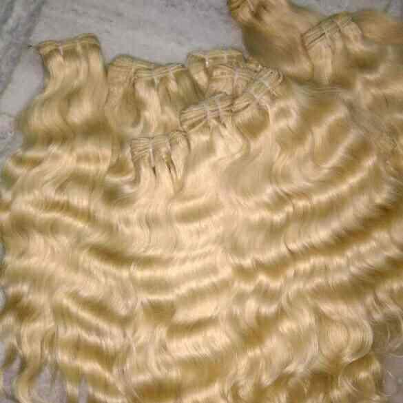 Blonde Hair Extensions   Remy exporter India offer all kind of hairs  Indian hairs blondehair extensions  - by Remy Exporters, Chennai