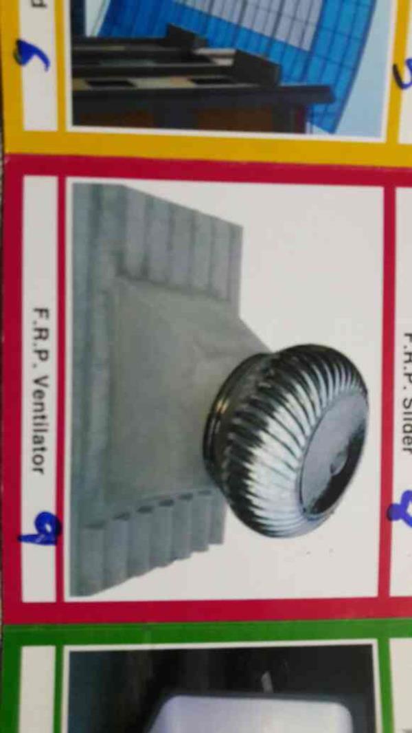 F.R.P ventilator - by Chamunda Fibre Glass, Ahmedabad