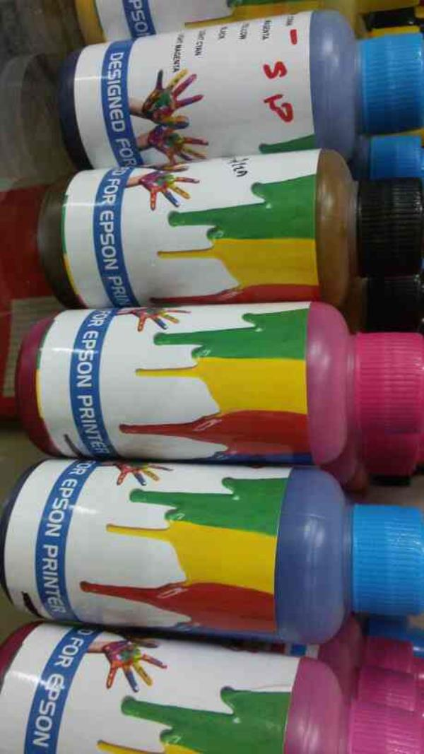 we prowide wide rang of inkjet printer ink like epson hp brother canon - by computer bazar , Rajkot