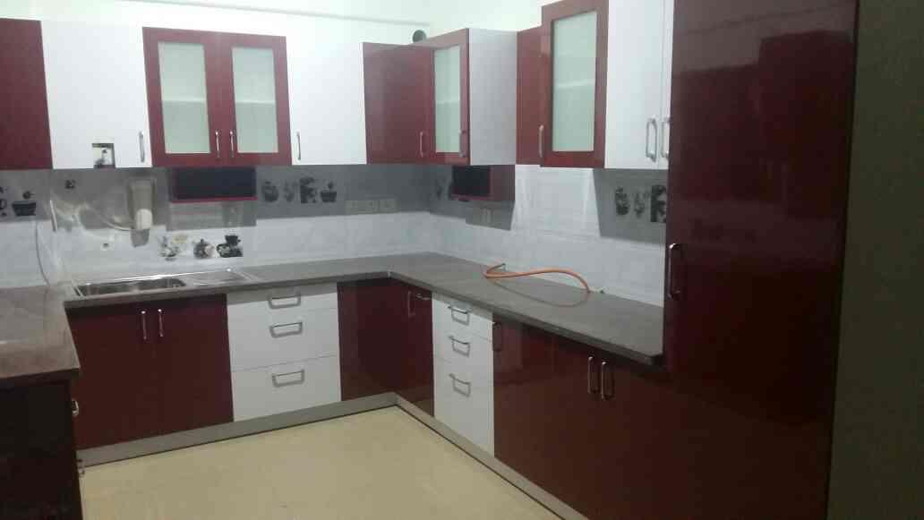 intext Modular kitchen project carried out at Whitefield. - by INTEXT Solutions, Bangalore