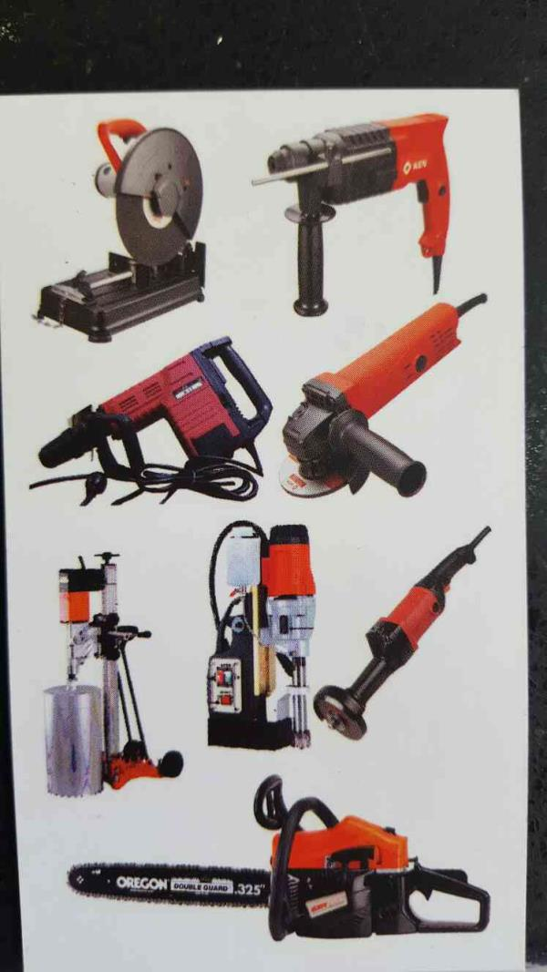 We also deals in premium quality power tools for all purposes. We believe in giving best and quality trusted brands to our customers. For more info please Visit our website www.gayatrimachinery.com - by Gayatri Machinery, Ahmedabad