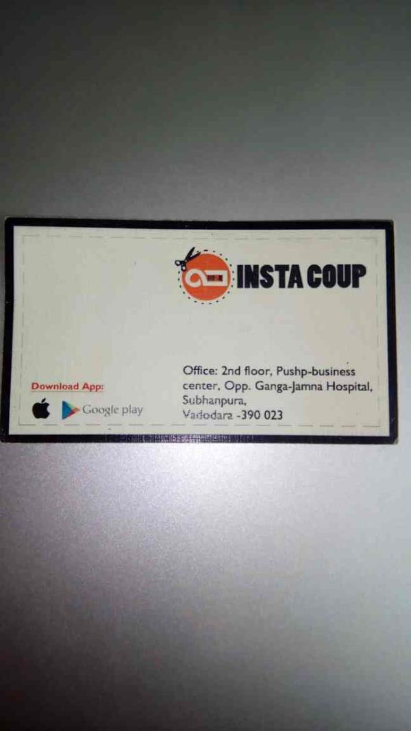 insta coup is very first mobile App for online food and restaurants coupons available in vadodara Gujarat.  - by Insta Coup, Vadodara