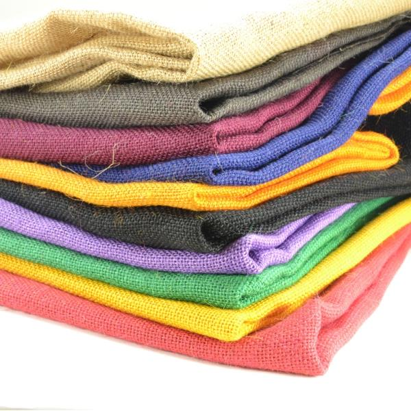 Exporter of Colored Hessian Cloth in Kolkata. we are a well recognized manufacturers and Exporters of a quality range of Jute Bags. - by TIRUPATI INTERNATIONAL, Calcutta