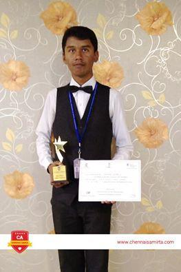 No.1 Hotel Management College in Tamilnadu  Chennais Amirta is the No.1 Hotel Management Institute in Tamil Nadu. Here our Chennais Amirta GR branch student Praveen Kumar, who has won the INDIA SKILLS COMPETITION - 2016 in F & B department. - by Chennais Amirta - Best Hotel Management Institute, chennai
