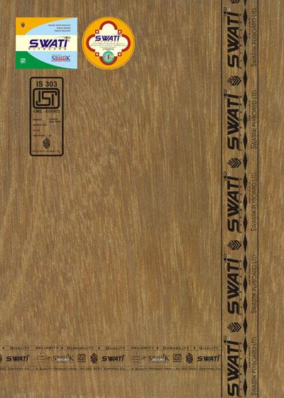 BWR Grade ISI marked SWATI Plywood is bonded with improved phenol formaldehyde synthetic resin under controlled temperature and pressure. Three tier treatments are given to BWR GRADE PLYWOOD so as to make it real tough in which Veneers are  - by Shashank Industries,  Plot No. 2 Village Barola, Sector 49, Noida 201301