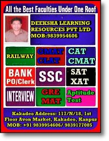 @#1##  MBA coaching in kanpur/MBA preparation institute in kanpur/CLAT Entrance Coaching in kanpur/ best CLAT Entrance Coaching in kanpur/DEEKSHA Kanpur is led and managed by IIM Alumni, IITians & Engineers, These are highly qualified exper - by Deeksha Learning Resources Pvt Ltd, Kanpur