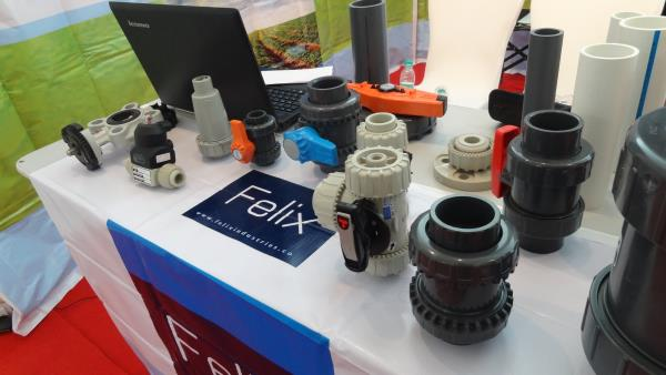 Felix Industries deals in all types of CPVC, UPVC, PPH, PVDF & HDPE pipes, valves and fittings. Thermoplastic valves are our strength. We also introduce Straub couplings from FIP. - by Felix Industries Pvt. Ltd., Ahmedabad