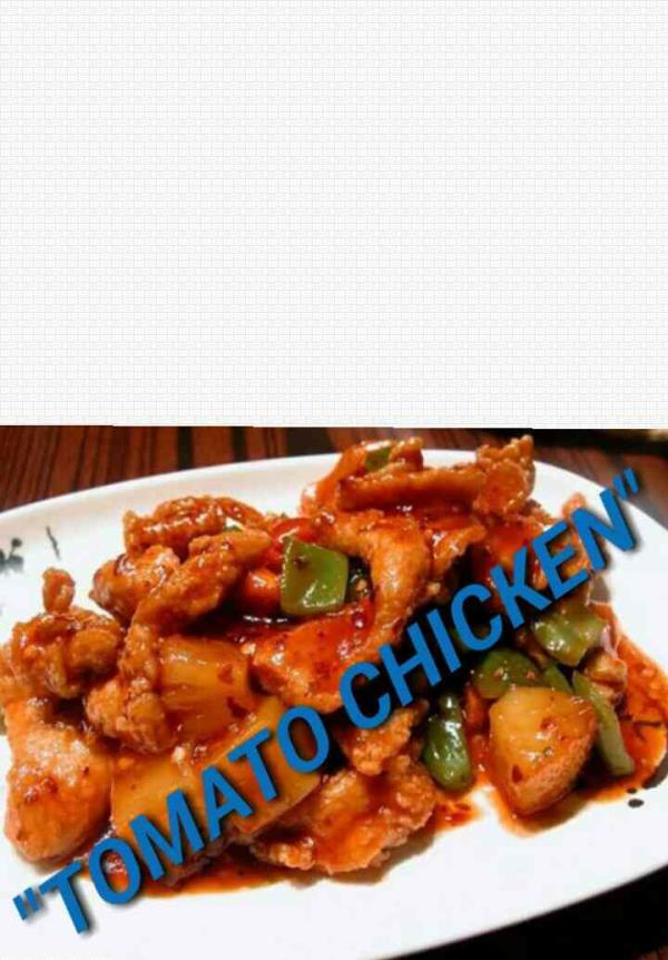Tomato chicken.  - by Hotel Aachis 9443676586, Dindigul