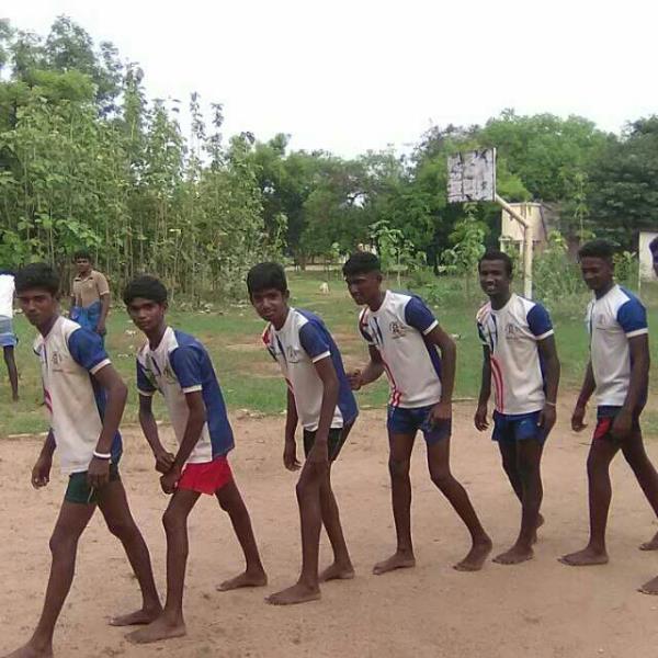 kabbadi team in manalpatti - by ivanthaversons, Madurai